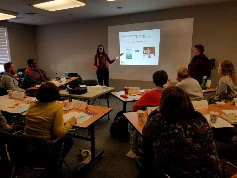 Workshop on Microaggressions for YWCA